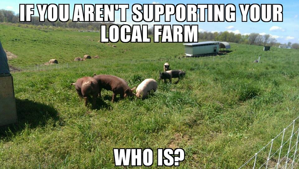Are you supporting your local farm?